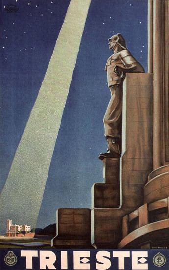 Trieste Italy Italia | Vintage Travel Posters 1891-1970