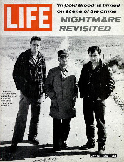 Truman Capote Cold Blood Kansas 12 May 1967 Copyright Life Magazine | Life Magazine BW Photo Covers 1936-1970