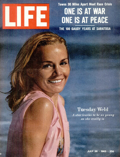 Tuesday Weld Legend of Lylah Clare 26 Jul 1963 Copyright Life Magazine | Life Magazine Color Photo Covers 1937-1970