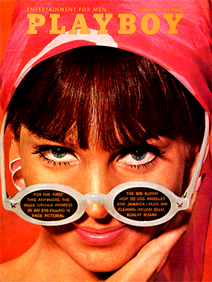 Turid Lundberg Playboy Magazine 1965-06 Copyright Sex Appeal | Sex Appeal Vintage Ads and Covers 1891-1970