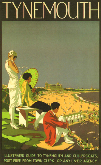 Tynemouth United Kingdom | Vintage Travel Posters 1891-1970