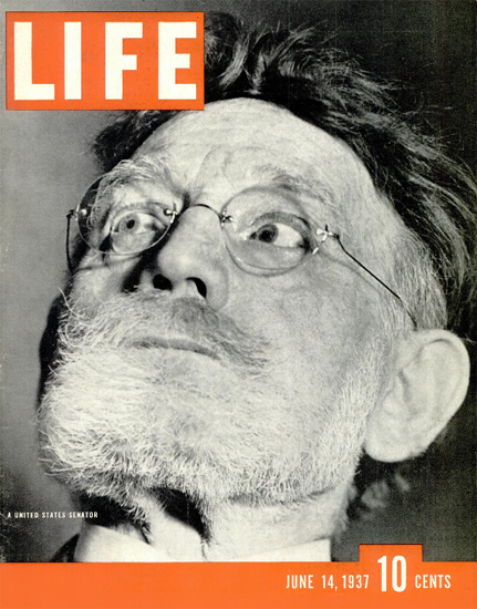 United States Senator 14 Jun 1937 Copyright Life Magazine | Life Magazine BW Photo Covers 1936-1970