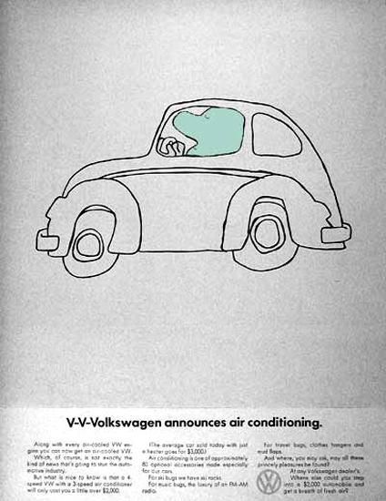 VW Volkswagen 1968 Beetle Air Conditioning | Vintage Cars 1891-1970