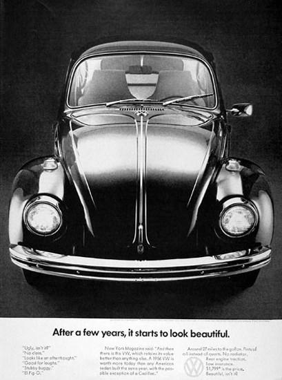 VW Volkswagen 1970 It Starts To Look Beautiful | Vintage Cars 1891-1970