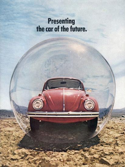 VW Volkswagen Beetle Car Of The Future 1970 | Vintage Cars 1891-1970