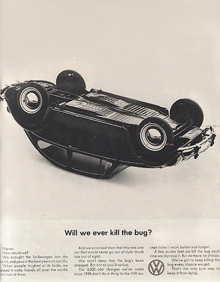 VW Volkswagen Beetle Will We Ever Kill The Bug | Vintage Cars 1891-1970