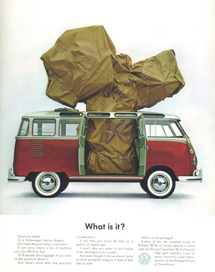 VW Volkswagen Bus What Is It 1963 | Vintage Cars 1891-1970