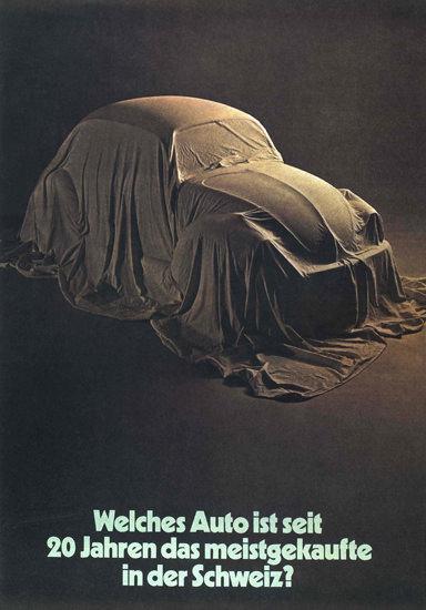 VW Volkswagen Kaefer Meist Verkaufte Schweiz | Vintage Cars 1891-1970