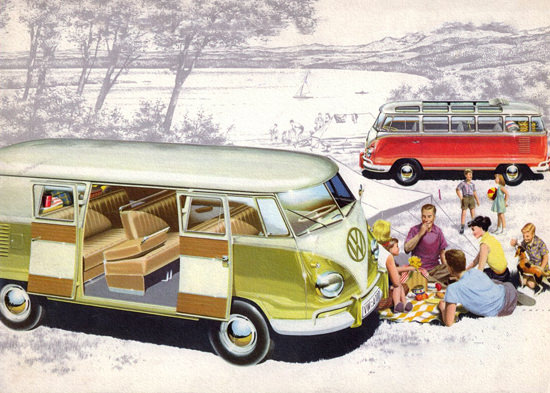 VW Volkswagen Station Wagon 1958 | Vintage Cars 1891-1970