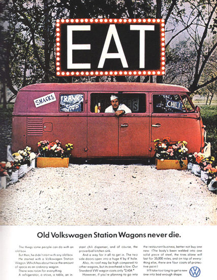 VW Volkswagen Station Wagons Never Die | Vintage Cars 1891-1970