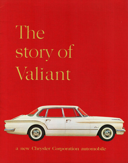 Valiant Four Door Sedan Canada 1960 | Vintage Cars 1891-1970