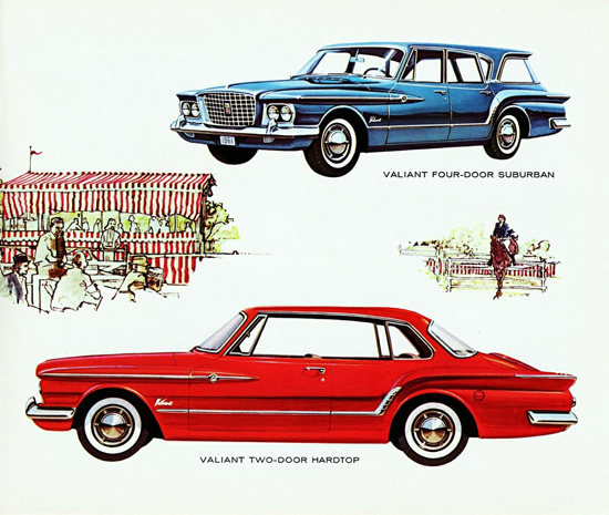 Valiant V 200 Hardtop Suburban Canada 1961 | Vintage Cars 1891-1970
