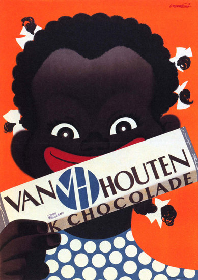 Van Houten Chocolade Netherlands | Vintage Ad and Cover Art 1891-1970