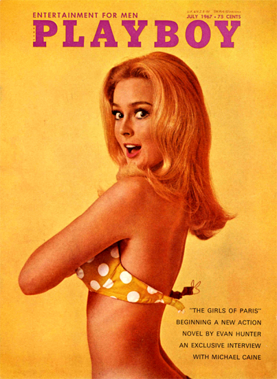 Venita Wolf Playboy Magazine 1967-07 Copyright Sex Appeal | Sex Appeal Vintage Ads and Covers 1891-1970