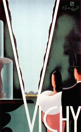 Vichy 1930 | Vintage Travel Posters 1891-1970
