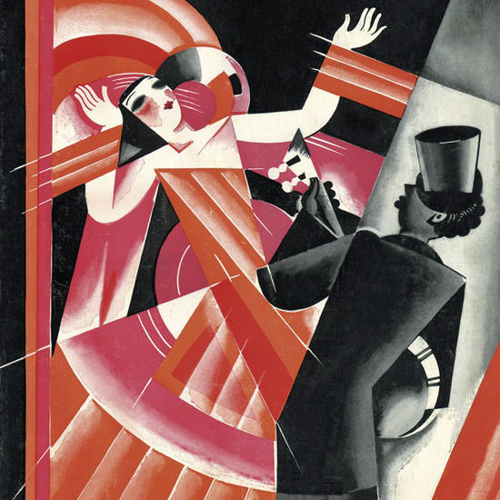 Victor Bobritsky The New Yorker 1926_02_06 Copyright crop | Best of 1920s Ad and Cover Art