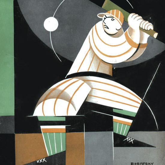 Victor Bobritsky The New Yorker 1926_05_08 Copyright crop | Best of 1920s Ad and Cover Art