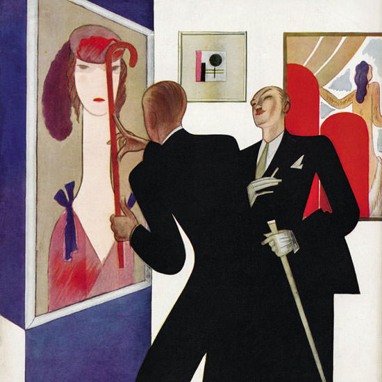 Victor Bobritsky The New Yorker 1930_11_29 Copyright crop   Best of 1930s Ad and Cover Art