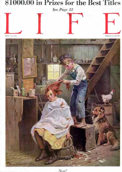 Victor C Anderson Life Humor Magazine 1923-05-24 Copyright | Life Magazine Graphic Art Covers 1891-1936