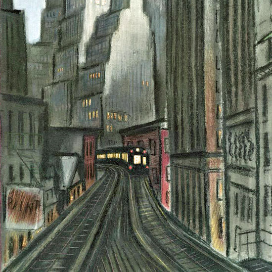 Victor De Pauw The New Yorker 1940_06_15 Copyright crop   Best of 1940s Ad and Cover Art