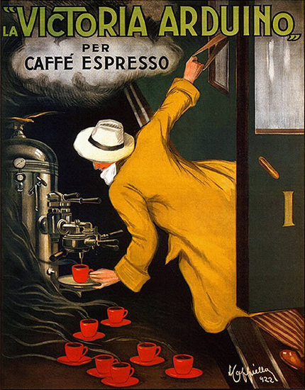 Victoria Arduino Per Caffe Espresso 1922 | Sex Appeal Vintage Ads and Covers 1891-1970