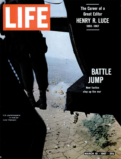 Vietnam 10000 US Soldiers Killed 10 Mar 1967 Copyright Life Magazine   Life Magazine Color Photo Covers 1937-1970