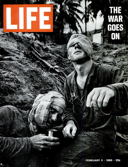 Vietnam 3000 US Soldiers Killed 11 Feb 1966 Copyright Life Magazine | Life Magazine BW Photo Covers 1936-1970