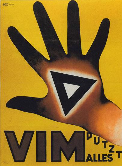 Vim Putzt Alles Switzerland Schweiz Suisse | Vintage Ad and Cover Art 1891-1970