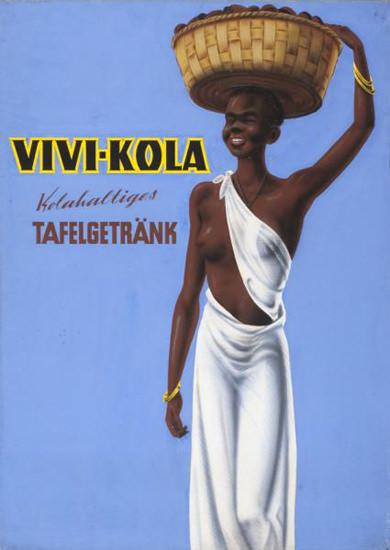 Vivi-Kola 1940 Kolahaltiges Tafelgetraenk Schweiz | Sex Appeal Vintage Ads and Covers 1891-1970