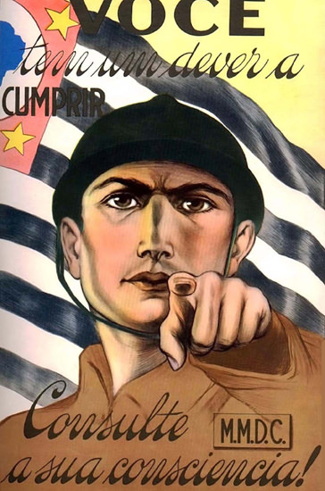 Voce Cumprir Brazil Brasil Vote | Vintage War Propaganda Posters 1891-1970