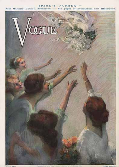 Vogue 1910-05-01 Copyright | Vogue Magazine Graphic Art Covers 1902-1958