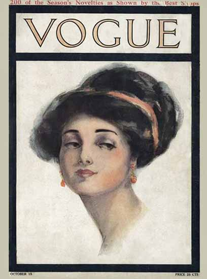 Vogue 1910-10-15 Copyright Sex Appeal | Sex Appeal Vintage Ads and Covers 1891-1970