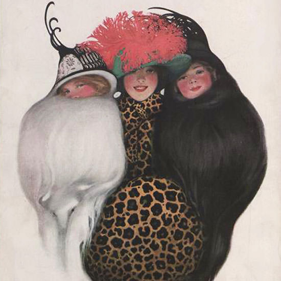 Vogue 1912-10-15 Copyright crop | Best of Vintage Cover Art 1900-1970