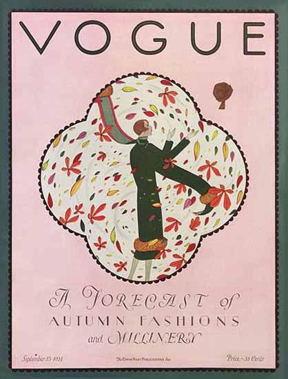 Vogue 1924-09-15 Copyright   Vogue Magazine Graphic Art Covers 1902-1958