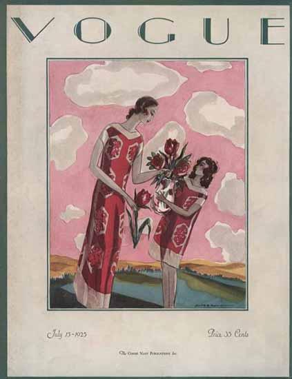 Vogue 1925-07-15 Copyright | Vogue Magazine Graphic Art Covers 1902-1958