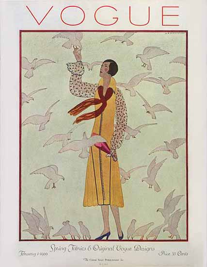 Vogue 1926-02-01 Copyright | Vogue Magazine Graphic Art Covers 1902-1958