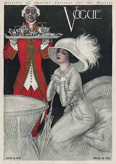 Vogue Cover 1910-06-15 Copyright Sex Appeal   Sex Appeal Vintage Ads and Covers 1891-1970