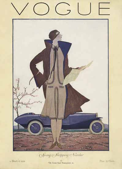 Vogue Cover 1926-03-15 Copyright | Vogue Magazine Graphic Art Covers 1902-1958