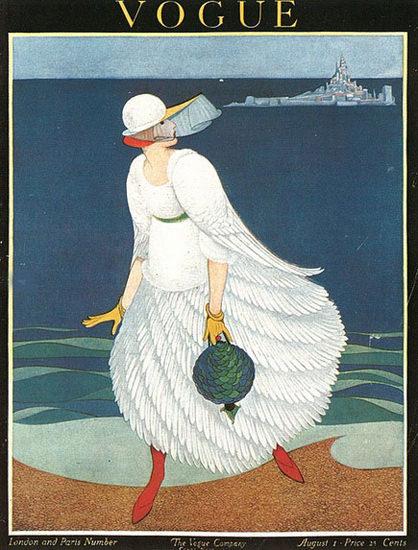 Vogue Le Mont-Saint-Michel London Paris Number | Sex Appeal Vintage Ads and Covers 1891-1970