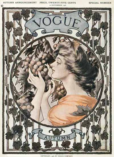 Vogue Magazine 1906-09-20 Copyright Sex Appeal | Sex Appeal Vintage Ads and Covers 1891-1970