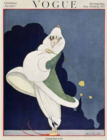 Vogue Magazine 1916-12-15 Copyright | Vogue Magazine Graphic Art Covers 1902-1958