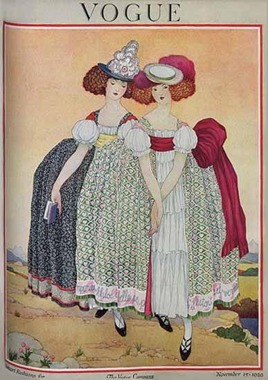 Vogue Magazine 1920-11-15 Copyright | Vogue Magazine Graphic Art Covers 1902-1958