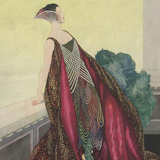Vogue Magazine 1921-05-01 Copyright crop | Best of 1920s Ad and Cover Art
