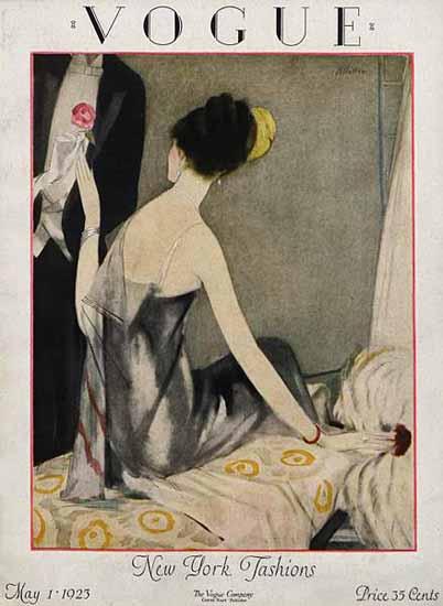 Vogue Magazine 1923-05-01 Copyright | Vogue Magazine Graphic Art Covers 1902-1958