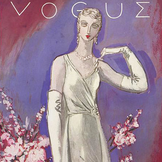 Vogue Magazine 1930-09-29 Copyright crop | Best of 1930s Ad and Cover Art