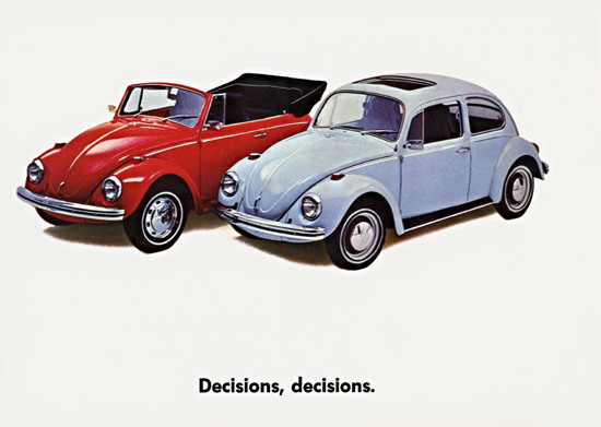 Volkswagen Convertible N Sunroof 1970 Decisions | Vintage Cars 1891-1970