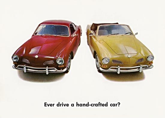Volkswagen Karmann Ghia Coupe Convertible 1970 | Vintage Cars 1891-1970