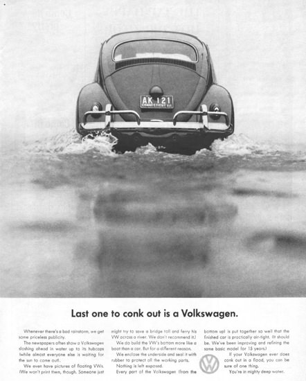 Volkswagen VW  Last One To Cnok Out 1961 | Vintage Cars 1891-1970