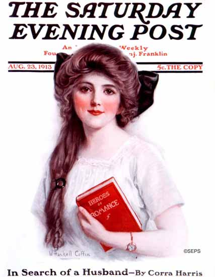 WH Coffin Cover Artist Saturday Evening Post 1913_08_23 | The Saturday Evening Post Graphic Art Covers 1892-1930