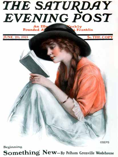 WH Coffin Cover Artist Saturday Evening Post 1915_06_26 | The Saturday Evening Post Graphic Art Covers 1892-1930